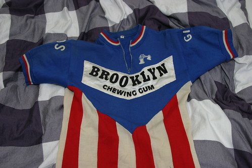 BROOKLYN jersey 40 years later, bought @Rotterdam bikejumble