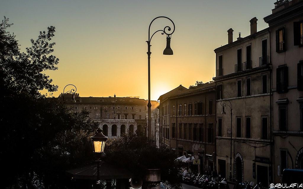 Tramonto romano / Roman Sunset