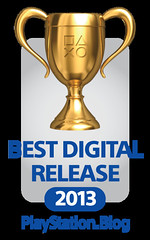 PlayStation Blog Game of the Year Awards 2013: Best Digital Release Gold
