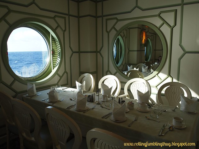 Enchanted Garden - Disney Fantasy Cruise Line