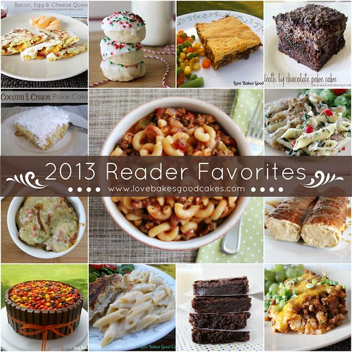 2013 Reader Favorites Collage