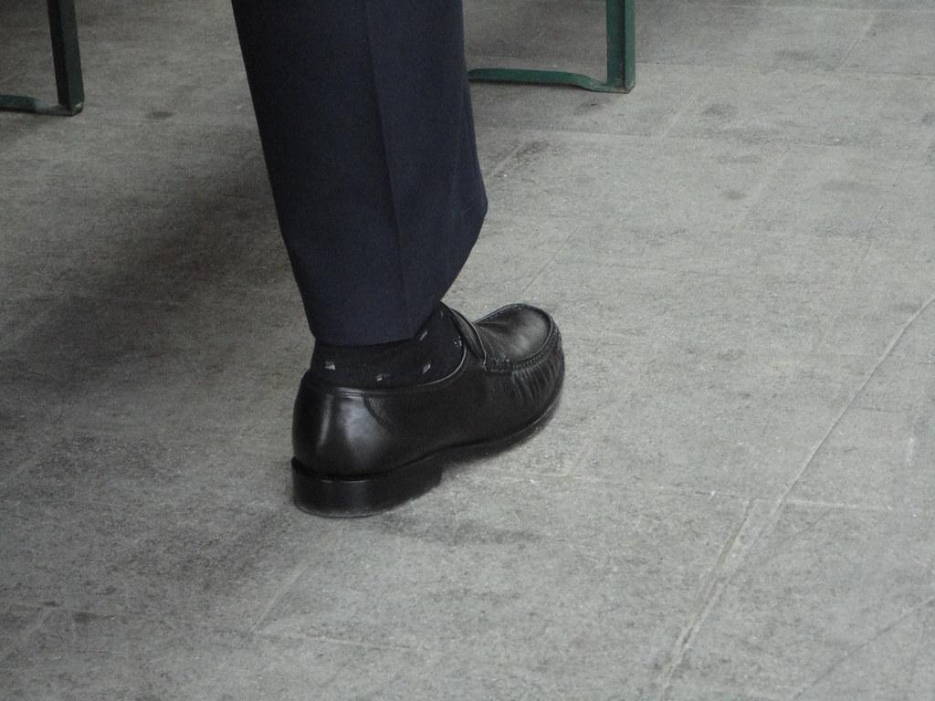 Leadenhall Black Shoes