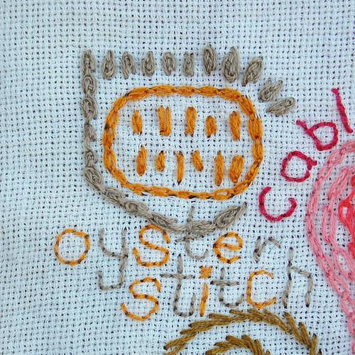 TAST #28 Oyster Stitch