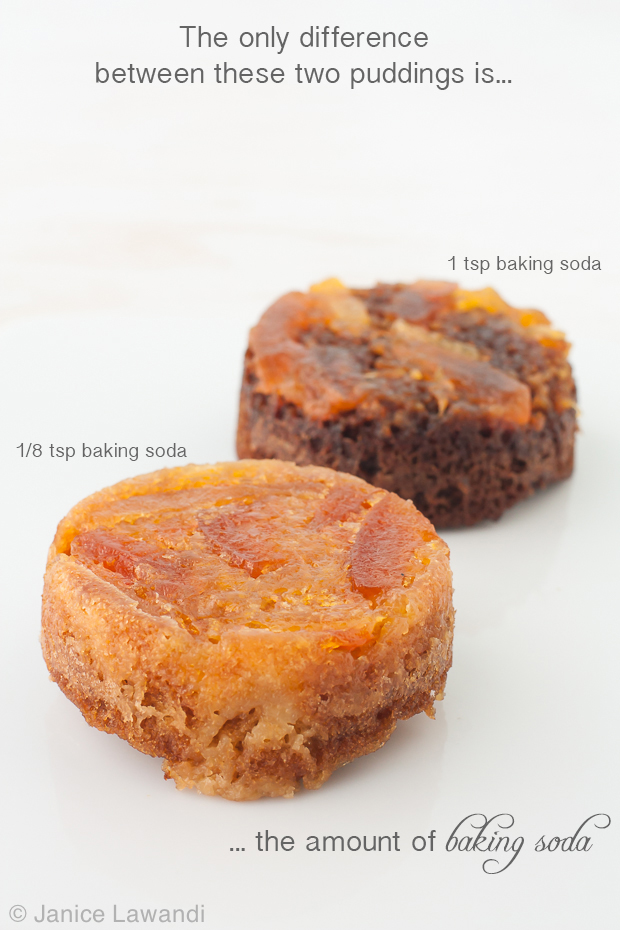 how different amounts of baking soda affect cakes | kitchen heals soul