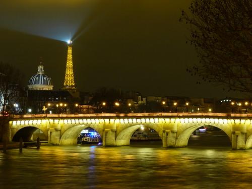 Paris a-glow