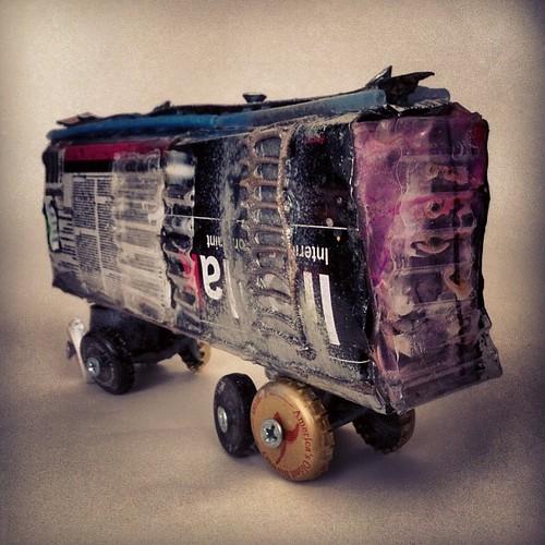 Ironlak boxcar by eL hue V