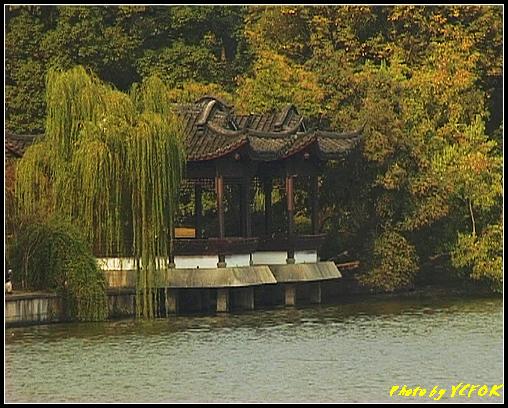 杭州 西湖 (其他景點) - 215 (從白堤上的孤山旁望北山路 白堤結束點 西冷橋旁的湖畔)