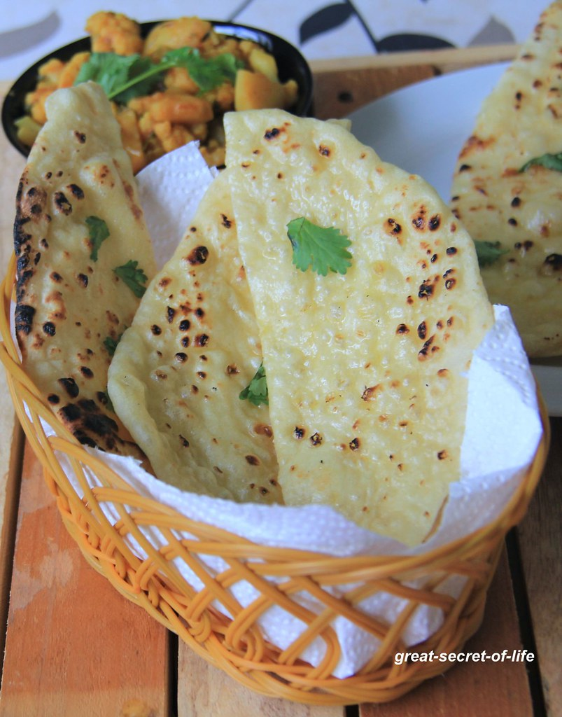 how to make naan at home without yeast