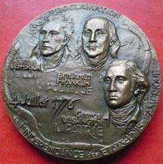 Presidents medal obverse