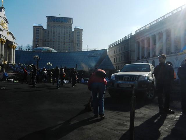 Майдан после штурма