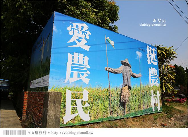 【台南後壁幾米】後壁土溝農村美術館‧農村就是美術館!幾米作品可愛現縱~5