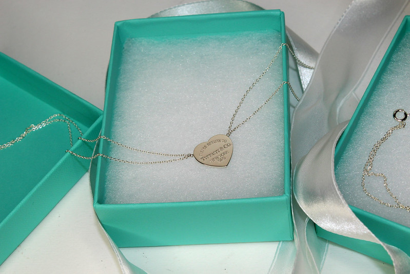 Return to Tiffany Heart Pendant