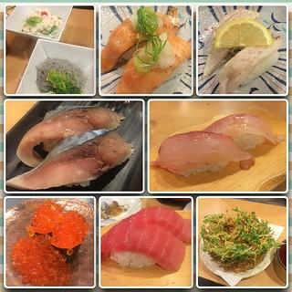 美味いお寿司たらふくいただきました。 #FrameMagic7