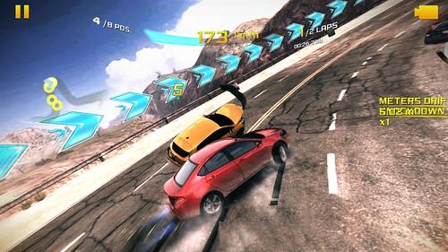 เกม Asphalt 8: Airborne คุณภาพกราฟิกระดับ High บน Lenovo Vibe X