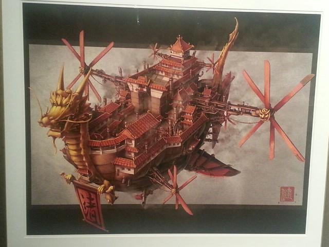 Steampunk Art Unfurled: Art of Victorian Futurism