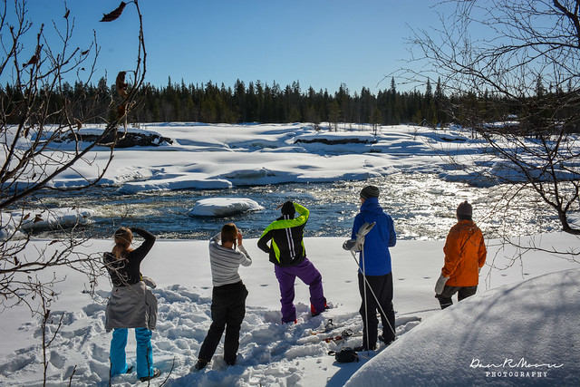 An Arctic Adventure in Swedish Lapland - Cross Country Skiing next to the River