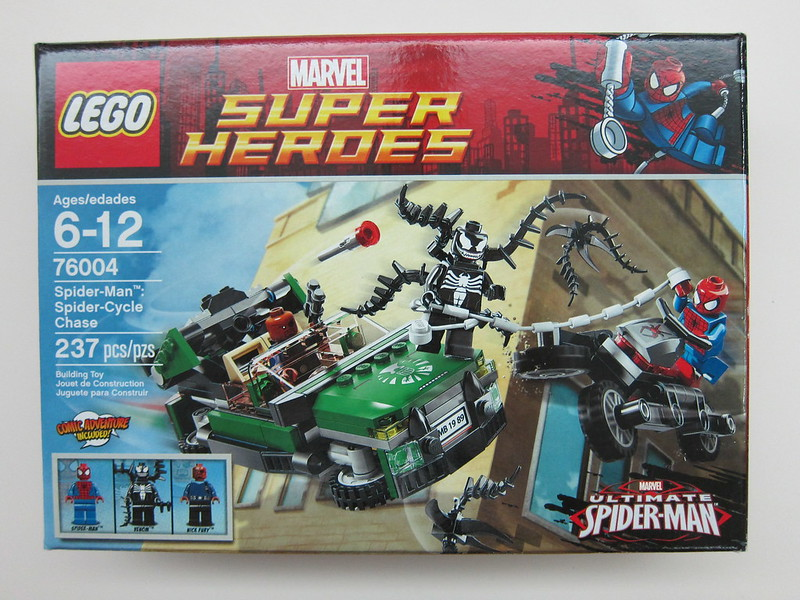 LEGO - 76004 - Super Heroes - Spider-Cycle Chase
