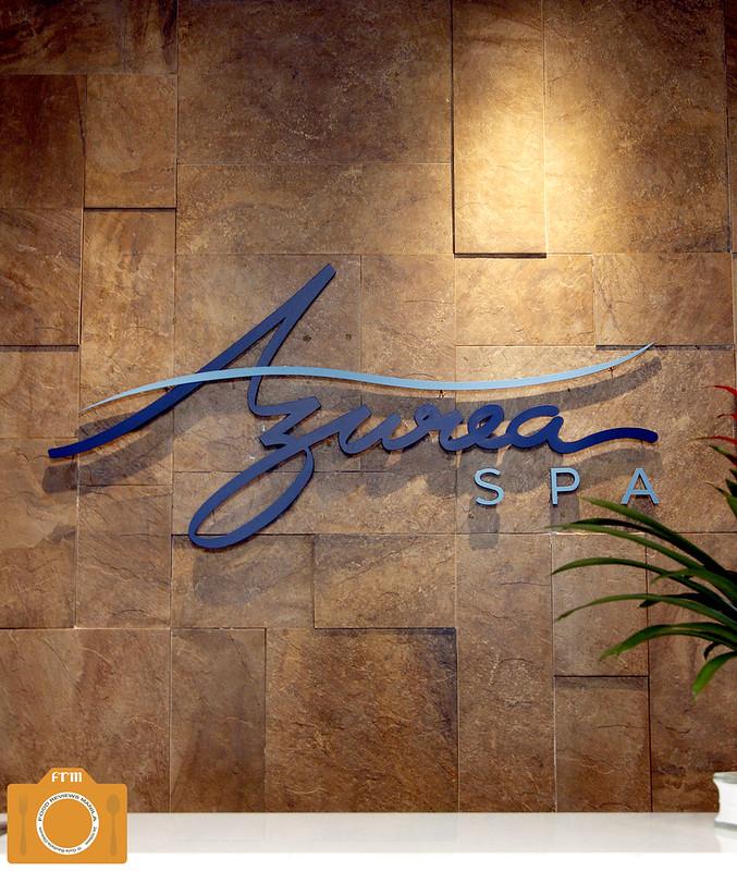 Azurea Spa reception desk