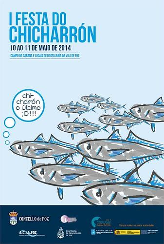 Foz 2014 - I Festa do Chicharro - cartel