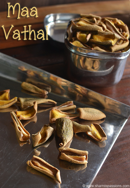 Maa Vathal Recipe