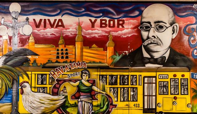 Ybor City Mural by CC user holmesjr on Flickr
