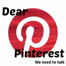 dear pinterest