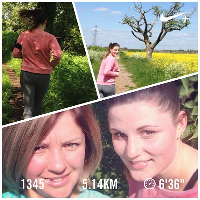 1st WeRunForMatthias team training #nikeplus #werunformatthias #richmondrunningfestival