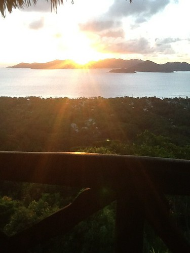 La Digue Seychelles sunset
