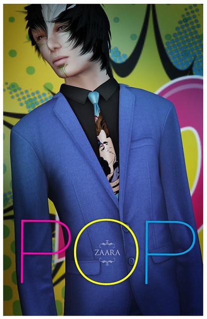 Zaara : classic suit pop edition for The Mens Dept