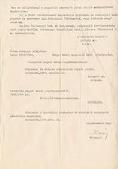 IV/6.a. Az alispán tájékoztatása a Honvédelmi Miniszter 1944. március 19-i rendeletéről, a német megszálló haderők elhelyezésére vonatkozóan.