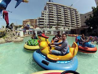 Lanchas acuáticas en parque fantasía de Marina d'or marina d'or - 14187820322 6d9278c33d n - Marina D'or, ciudad de vacaciones para niños y adultos