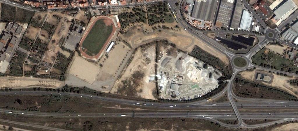 power8 stadium, cornellá de llobregat, barcelona, recambios pufi stadium, peticiones del oyente, antes, urbanismo, planeamiento, urbano, desastre, urbanístico, construcción
