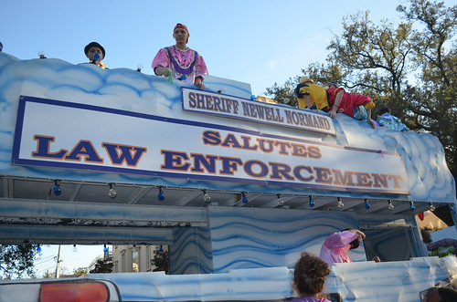 Newell Normand Salutes Law Enforcement
