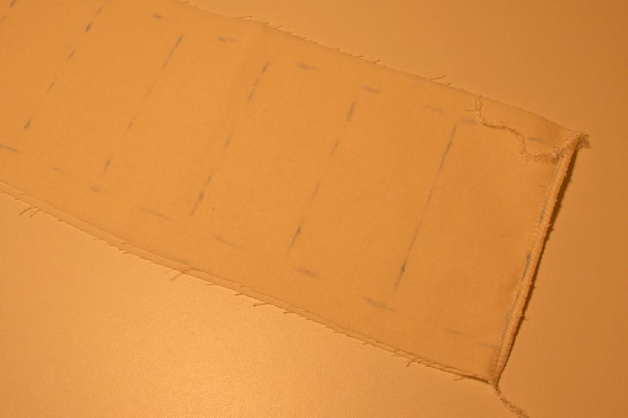 Tuto couture - bouillotte en graines de lin pour les cervicales - Etape 4