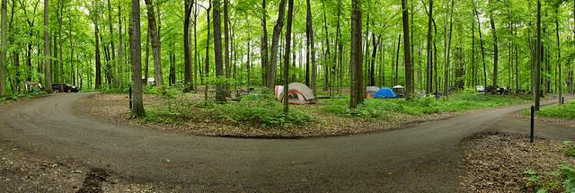 Turkey Run State Park Campground