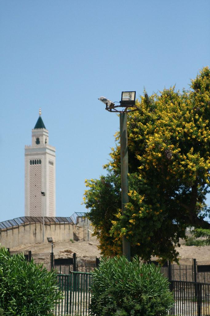 Minarete de la mezquita Malek ibn Anas