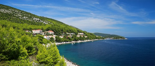travel sea summer canon island europe mediterranean croatia korcula adriatic hrvatska jadran dalmatia dalmacija kroatien korčula prižba prišćapac priscapac