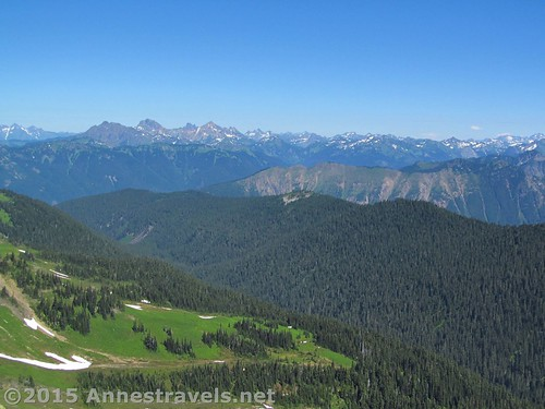 The Canadian Cascades from Skyline Divide, Mount Baker-Snoqualmie National Forest, Washington