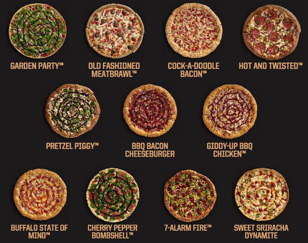 Pizza Hut Flavor of Now Pizzas