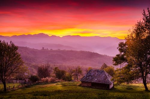 travel sunset sky nature colors landscape nikon serbia ivanjica d5100