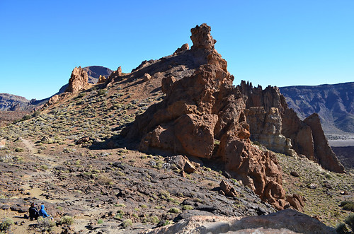 Roques de Garcia from the quiet end, Teide National Park, Tenerife