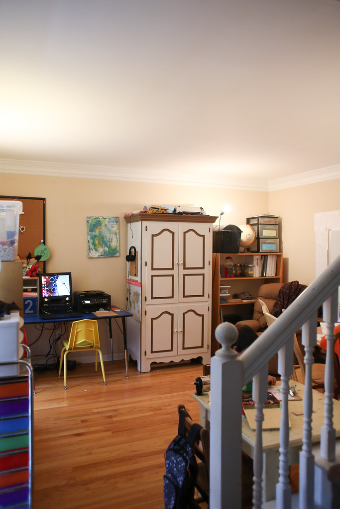 Reorganizing Room: Reorganizing Our Home School Room