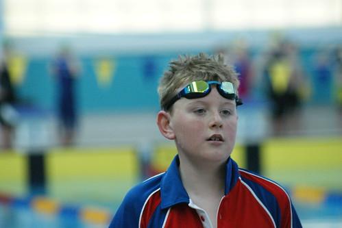 Post swim racer