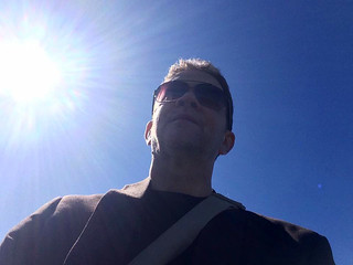 Chris Conway - beamed down to sunny planet...