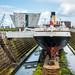 SS Nomadic in Dry Dock