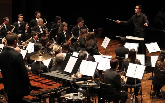 """VIII FESTIVAL DE BANDAS DE MÚSICA """"UNIVERSIDAD DE LEÓN"""" - BANDA DE MÚSICA DE CISTIERNA - AUDITORIO CIUDAD DE LEÓN 22.05.16"""