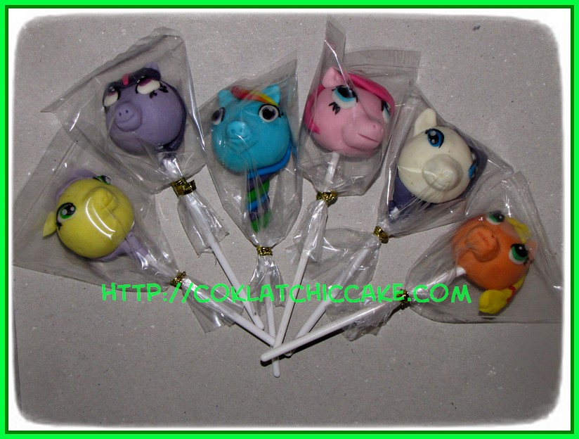 Cakepop my little pony