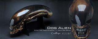 CoolProps【異形狗】Dog Alien 1:1 電影道具複製頭像