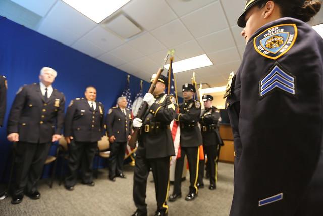 dep promotes three veteran members of police division