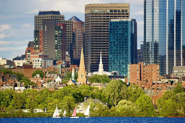 Closeup on Boston
